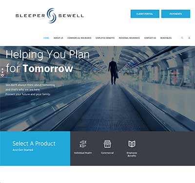 Sleeper Sewell Insurance Website